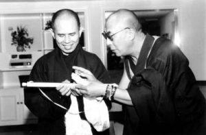 Thich Nhat Hanh amb el Dalai Lama